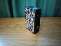 Hotcig R233 7.5V 233W VW Vape Mod Black With Replaceable Resin Panels Included
