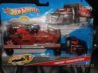 Hot Wheels    Truckin Transporters  Stealth Surveillance