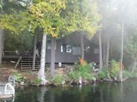 FOR RENT LAKEFRONT COTTAGE NEAR DORSET AND ALGONQUIN PARK