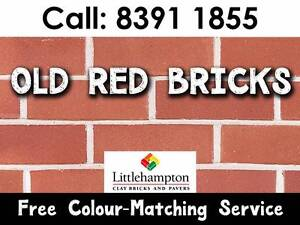 Old Red Clay Bricks - NEW! - Available now for pickup or delivery Adelaide CBD Adelaide City Preview