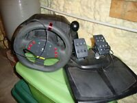 Momo Racing Wheel with force feedback