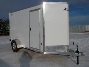 2017 ALCOM Xpress 6x12 Enclosed Cargo Trailer