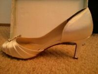 Bridal Shoes and Ring Bearer Pillow