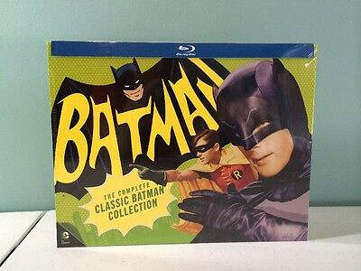 Batman The Complete Classic Television Series Blu Ray New Sealed
