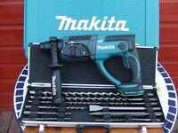Makita 18v LXT SDS Drill Kit (NEW-with warranty)