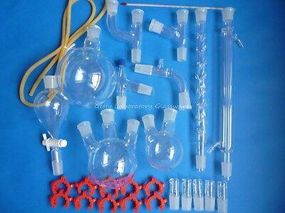 Organic Chemistry Laboratory Lab Glassware Glass Kit Distilling Kit 2440 Joints