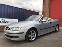 2006 SAAB 93 VECTOR CONVERTIBLE **SAT NAV/FULL LEATHER** SERVICE HISTORY *MOT WITH NO ADVISORIES*