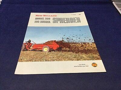 New Holland Model 300 I30 Bushel Spreader Brochure