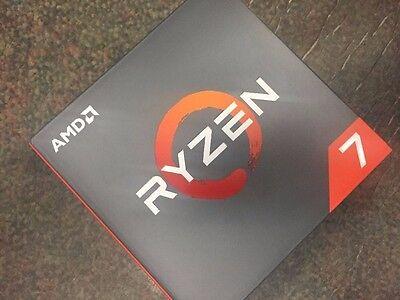New & Sealed AMD RYZEN 7 1800X 8-Core 3.6 GHz AM4 95W YD180XBCAEWOF CPU -