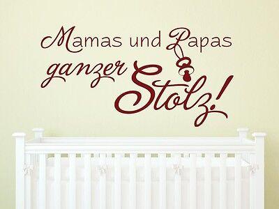Tattoo für Kinderzimmer Spruch Mamas und Papa stolz (Tattoos Für Mama)