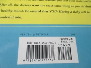 """THE DR. OZ & DR. ROIZEN  """"YOU HAVING A BABY""""  HARD COVER BOOK~ Edmonton Edmonton Area image 8"""