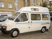 Ford Transit Autohomes Campervan LEZ compliant.. 1 year mot
