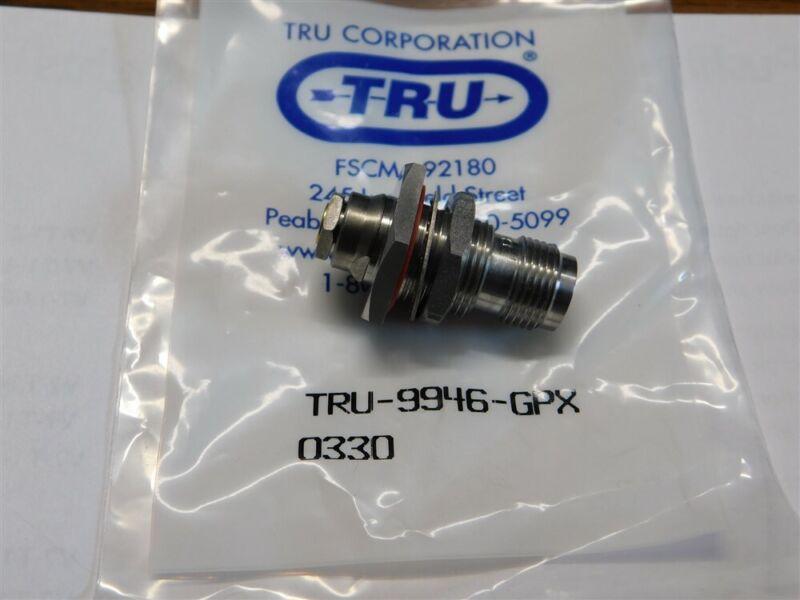 Mil-Spec TRU Corporation TRU-9946-GPX TNC Bulkhead Connector