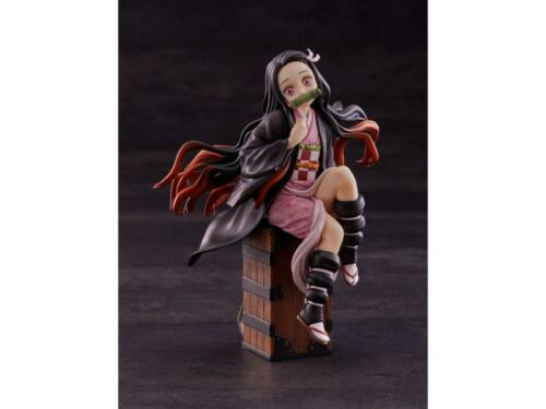 "Demon Slayer: New Kimetsu no Yaiba Kamado Nezuko Sit on Box 5.8"" Action Figure"