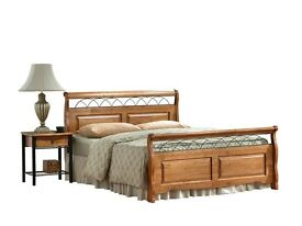 AMBERS DUKE WOODEN BED .. (FREE DELIVERY)