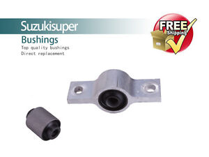 2 Front Lower Control Arm Bushing NISSAN ELGRAND E51 Quality Bushes Kit 2003-07