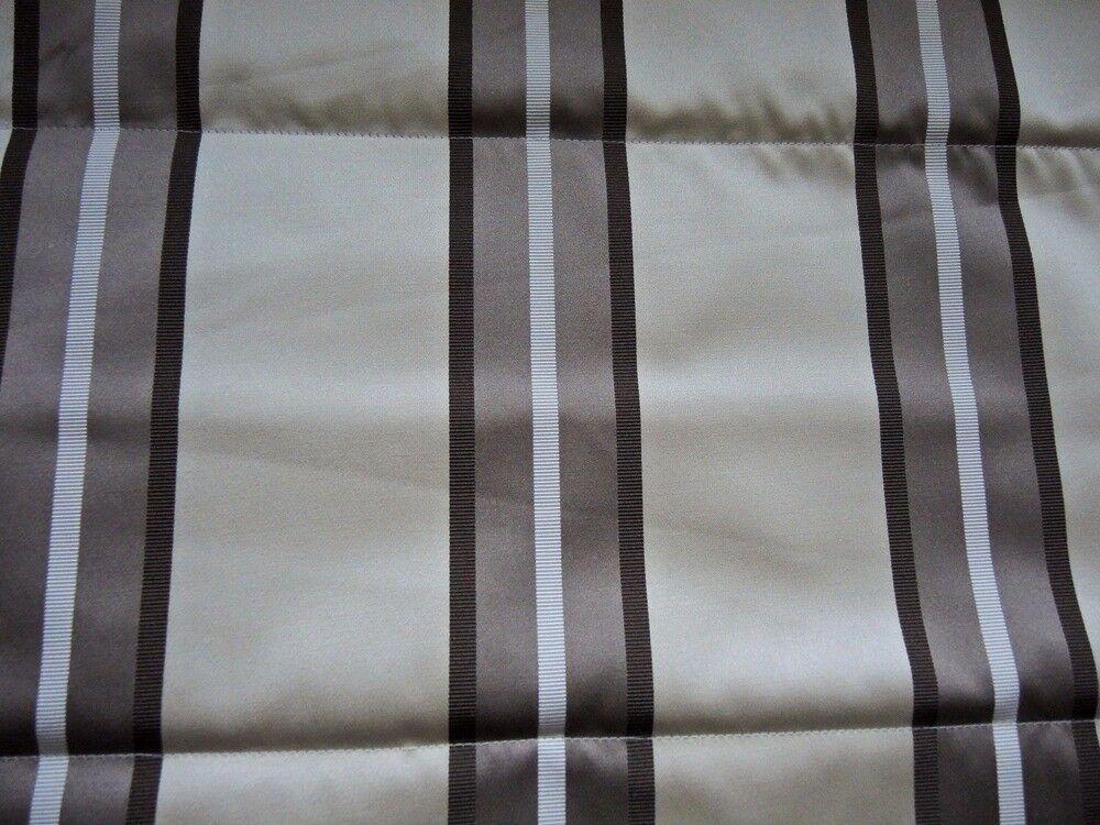 Roman Blind. Striped neutral colouring