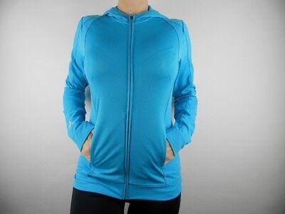 Adidas Climalite GOLF TRACK TOP JACKE Damen Jacke Neu Gr. S (Yoga Jacke Blau)