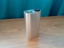 Noisy Cricket 18650 Mechanical Mech E Shisha Vape Mod Brushed Silver
