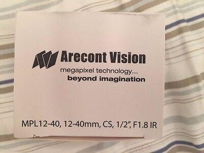 169 Arecont Vision Mpl12-40 12-40mm Manual Iris Varifocal Lens