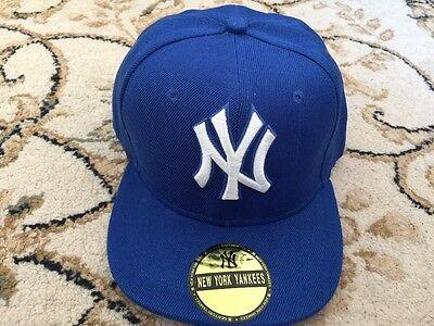 New Boy Girl Adjustable Baseball Cap Kids Snapback Children Hip-hop Hat Uk