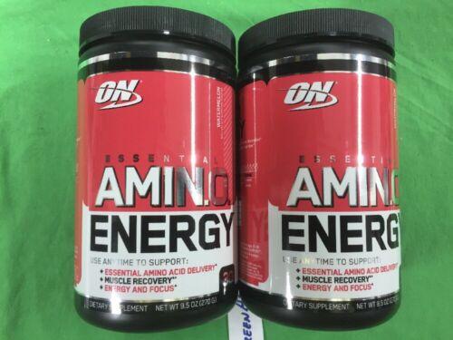 Optimum Nutrition Amino Energy, Watermelon, 9.5 oz