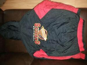 Vancouver Canucks fall/winter coat with large rear crest