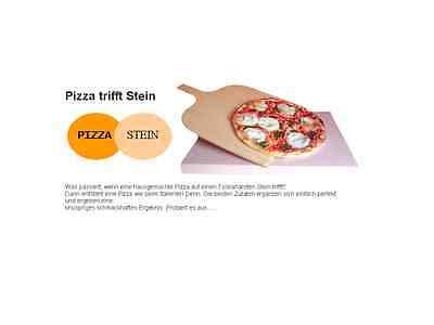 Der Pizzastein machts