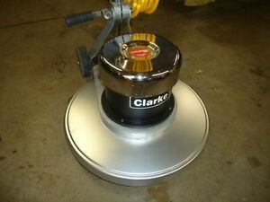 Clark CFP floor swing polishing machine.