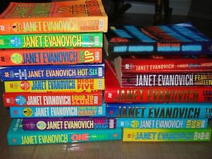 JANET EVANOVICH Collection 1-17