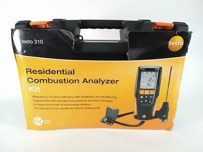 Testo 0563 3100 01 310 - Residential Combustion Analyzer Kit 1 Kit - Used