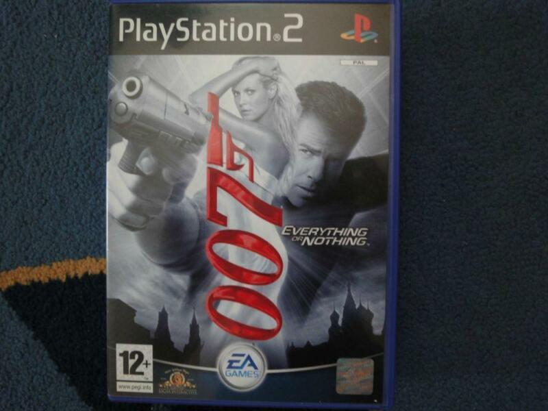James Bond 007:Everything or nothing - gra na PS2