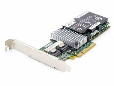 IBM ServeRAID M5015 SAS SATA RAID Controller 46M0851 PCI-E w/ Battery 43W4342 gebraucht kaufen  Flughafen Leipzig/Halle
