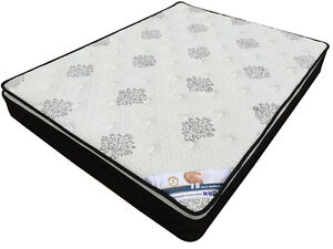 New and Quality Latex Pillow Top Firm Spring Mattress Clayton Monash Area Preview