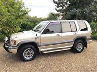 ISUZU BIGHORN IMPORT 7 SEATER AUTO DIESEL (gold) 1995
