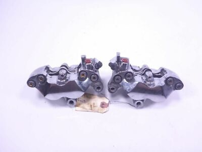 11 Victory Cross Country Front Brake Calipers Chrome