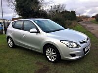 HYUNDAI I30 1.4 Comfort, 1 Former keeper, MOT Feb 2019, Excellent all round (silver) 2010