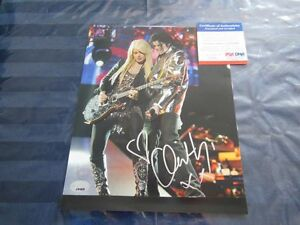 Orianthi Signed Picture PSA/DNA Approved