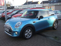 MINI HATCH ONE (blue) 2015