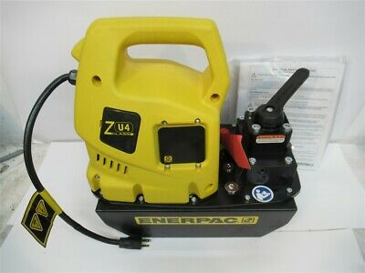 Enerpac Zu4308mb Electric Hydraulic Pump 32 Manual Valve 115 Volt