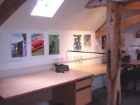 Gorgeous Country Barn Office Space Available