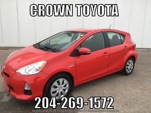 2012 Toyota Prius C! One owner, local trade in with low KMs! @