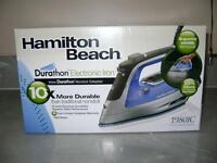HAMILTON BEACH STEAM IRON