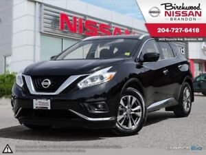 2016 Nissan Murano SL Leather Seats, Remote Start, AWD