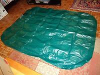 Coleman Inflatable Double Mattress & Pump