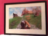Large framed picture print vgc
