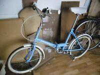 Folding Bike. Universal Uni Sport.