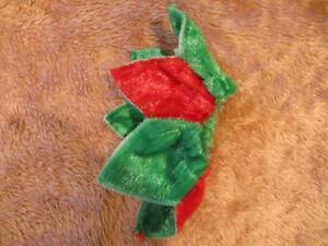 Dog Clothing - Red and Green Neck Flower or Band Strathcona County Edmonton Area image 3