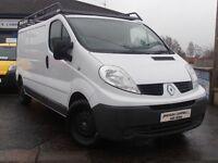 2012 Renault Traffic LL29 DCI S-R LWB SAT NAV 115BHP 6 Speed Van In White