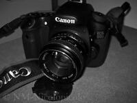 Canon, Canon 60D with a manual lens 50mm, f1.4